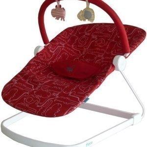 BabaBing Sitteri Baby Bouncer Float Punainen