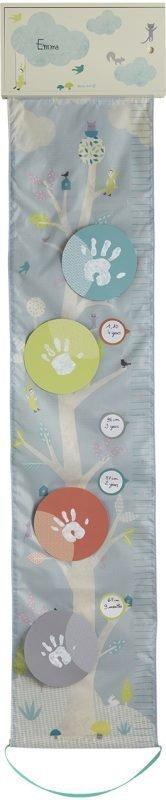 Baby Art Pituusmitta One To Tree Print