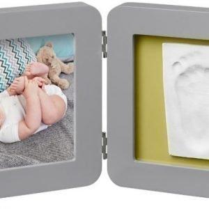 Baby Art Valokuvakehys ja kipsijälki Yksinkertainen Harmaa
