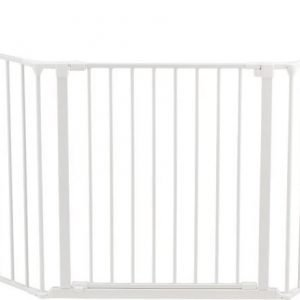 Baby Dan Flex-portti XL Valkoinen