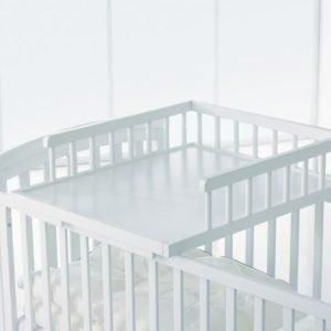 Baby Dan Hoitotaso pinnasänkyyn Valkoinen