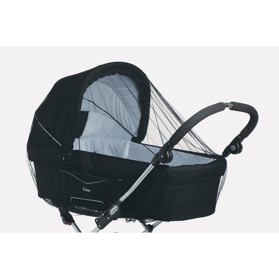 Baby Dan Hyönteisverkko Lastenvaunuihin Musta