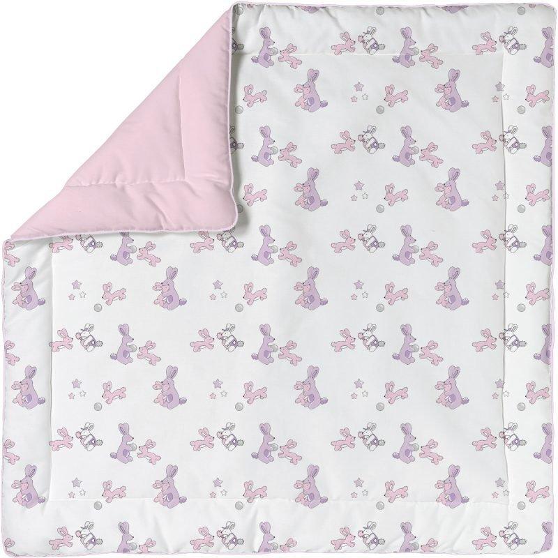Baby Dan Leikkihuopa 100 x 100 cm BunnyHop Vaaleanpunainen