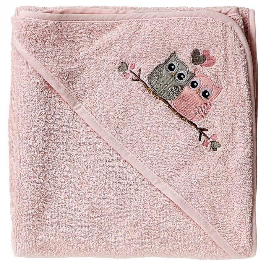 Baby Dan Love Birds Pyyheliina Vaaleanpunainen Pyyhe