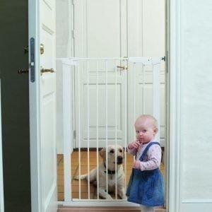 Baby Dan Portti Pet Gate PPG Koiraportti Valkoinen