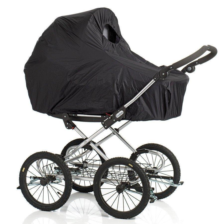 Baby Dan Sadesuoja Lastenvaunuihin Musta
