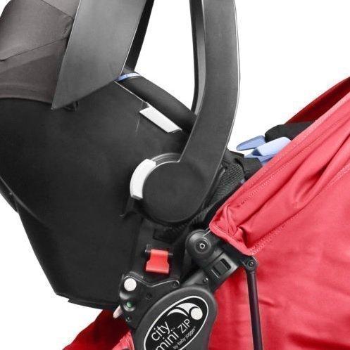 Baby Jogger Adapteri turvakaukaloon City Mini ZIP Cybex / Maxi-Cosi / BeSafe