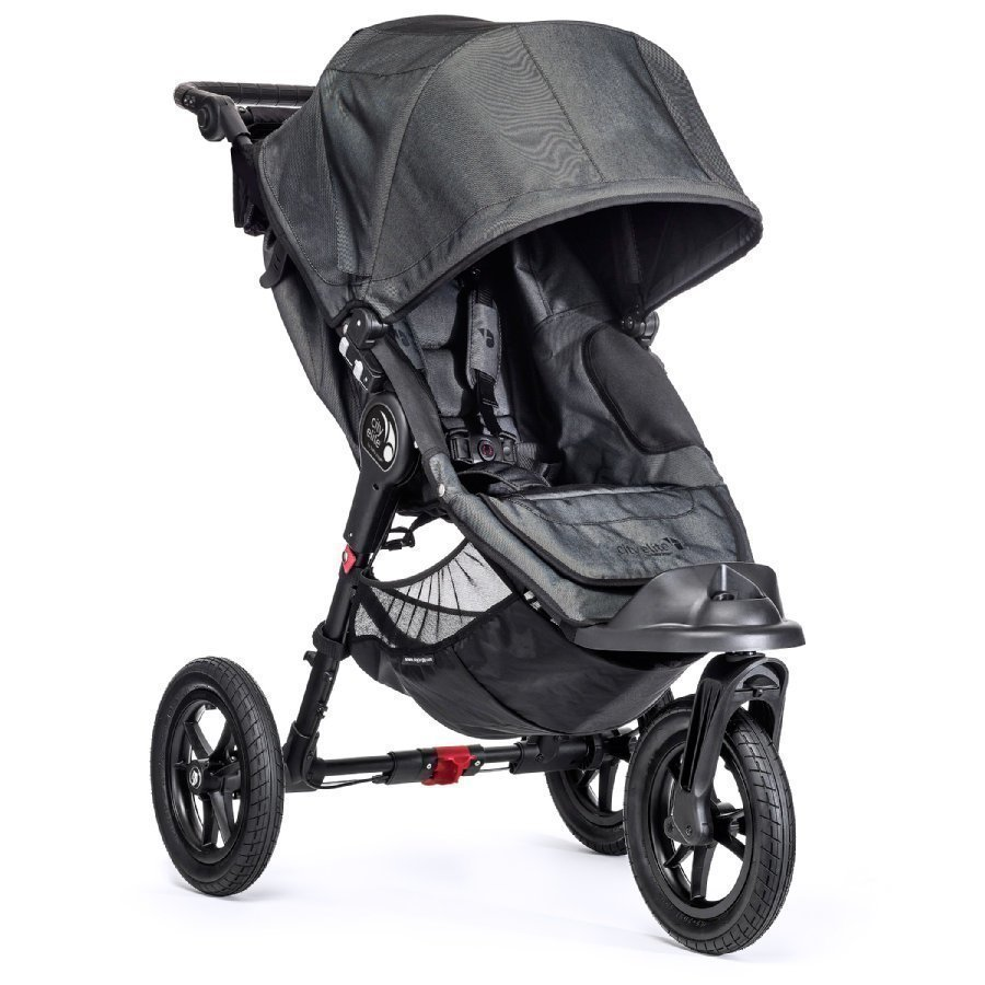 Baby Jogger City Elite Black Denim Lastenrattaat