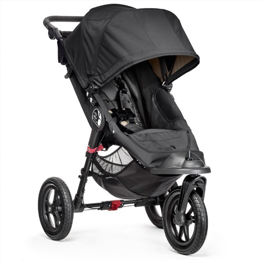 Baby Jogger City Elite Black Lastenrattaat