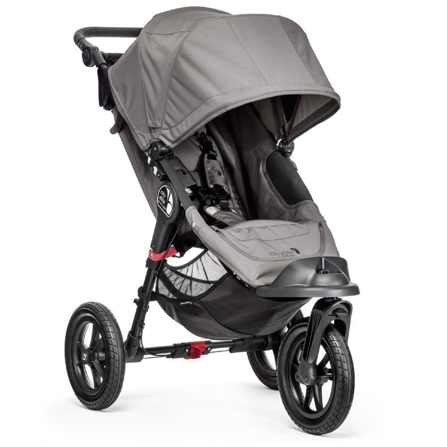 Baby Jogger City Elite Gray Lastenrattaat