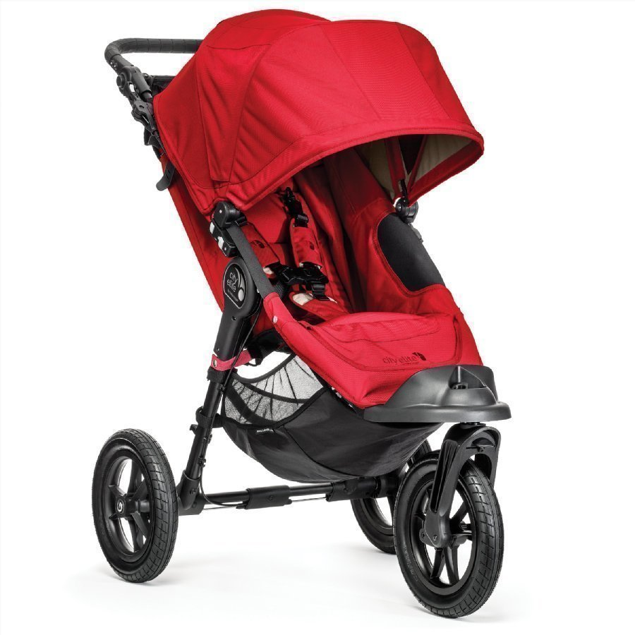 Baby Jogger City Elite Red Lastenrattaat