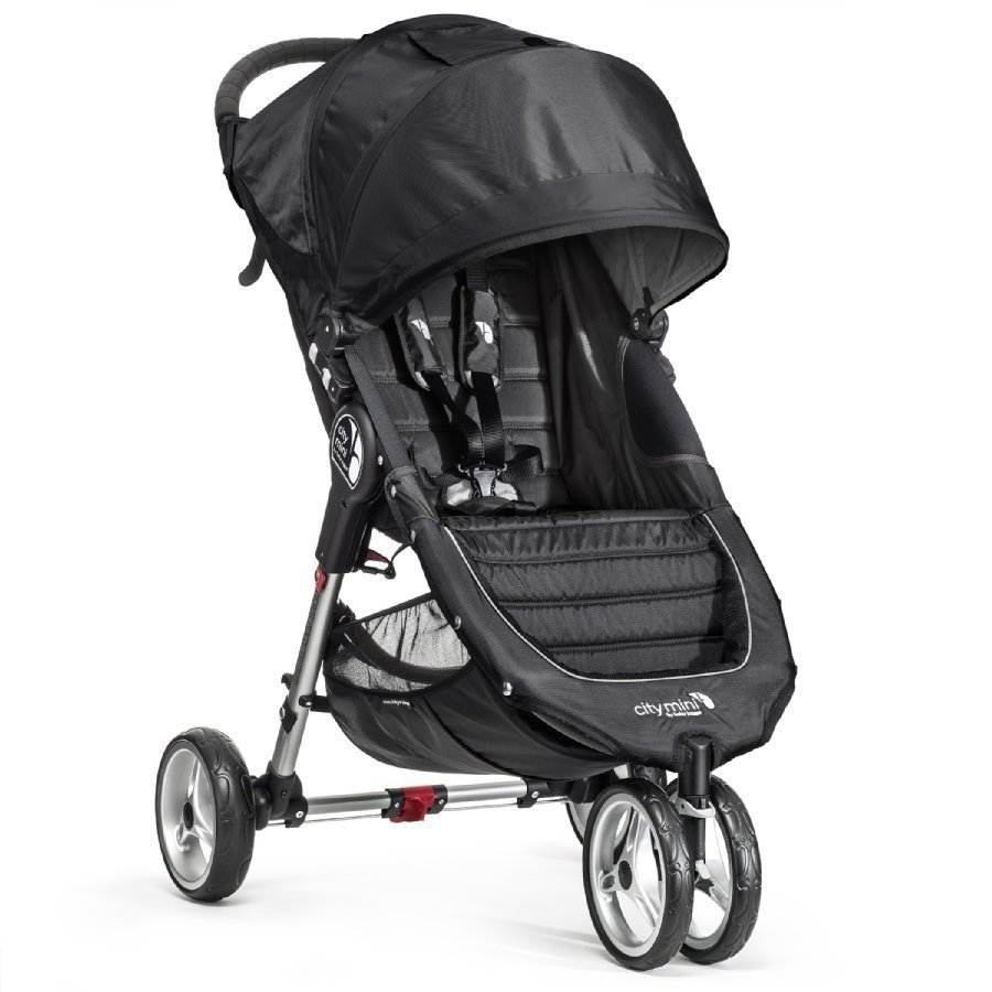Baby Jogger City Mini 3 Black Lastenrattaat