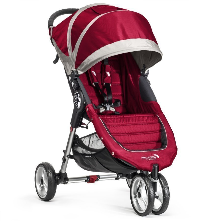 Baby Jogger City Mini 3 Crimson / Gray Lastenrattaat