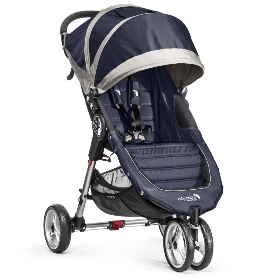Baby Jogger City Mini 3 Navy Blue / Gray Lastenrattaat