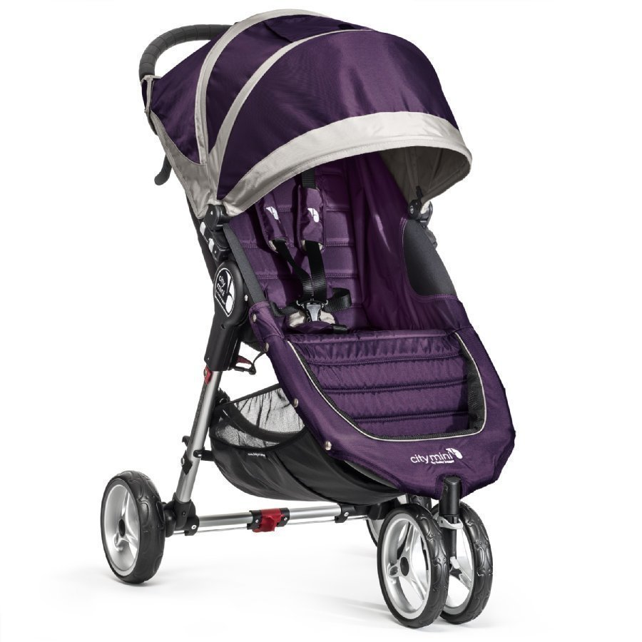 Baby Jogger City Mini 3 Purple / Gray Lastenrattaat
