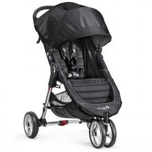 Baby Jogger City Mini 3 Rattaat Musta Harmaa