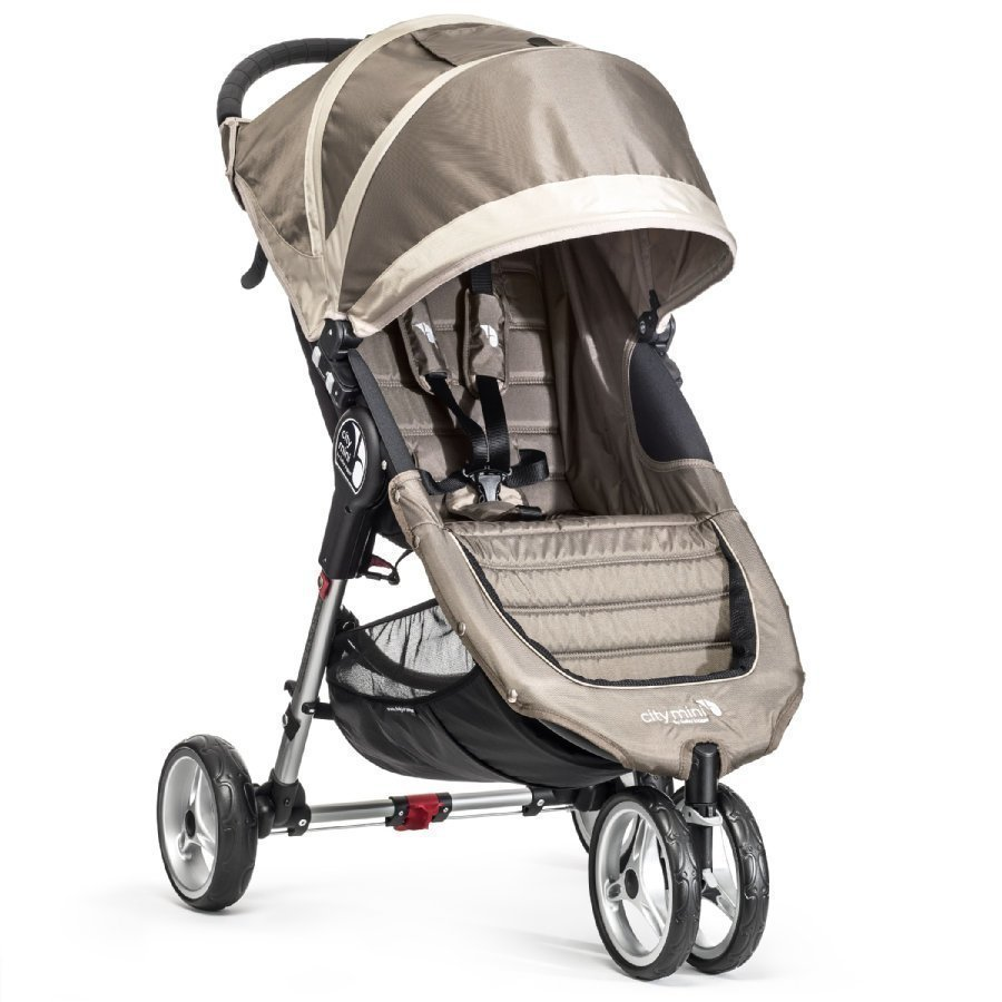 Baby Jogger City Mini 3 Sand / Stone Lastenrattaat