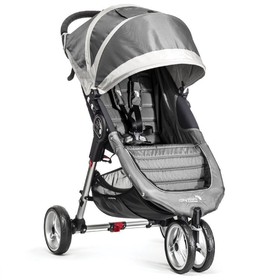 Baby Jogger City Mini 3 Steel / Gray Lastenrattaat
