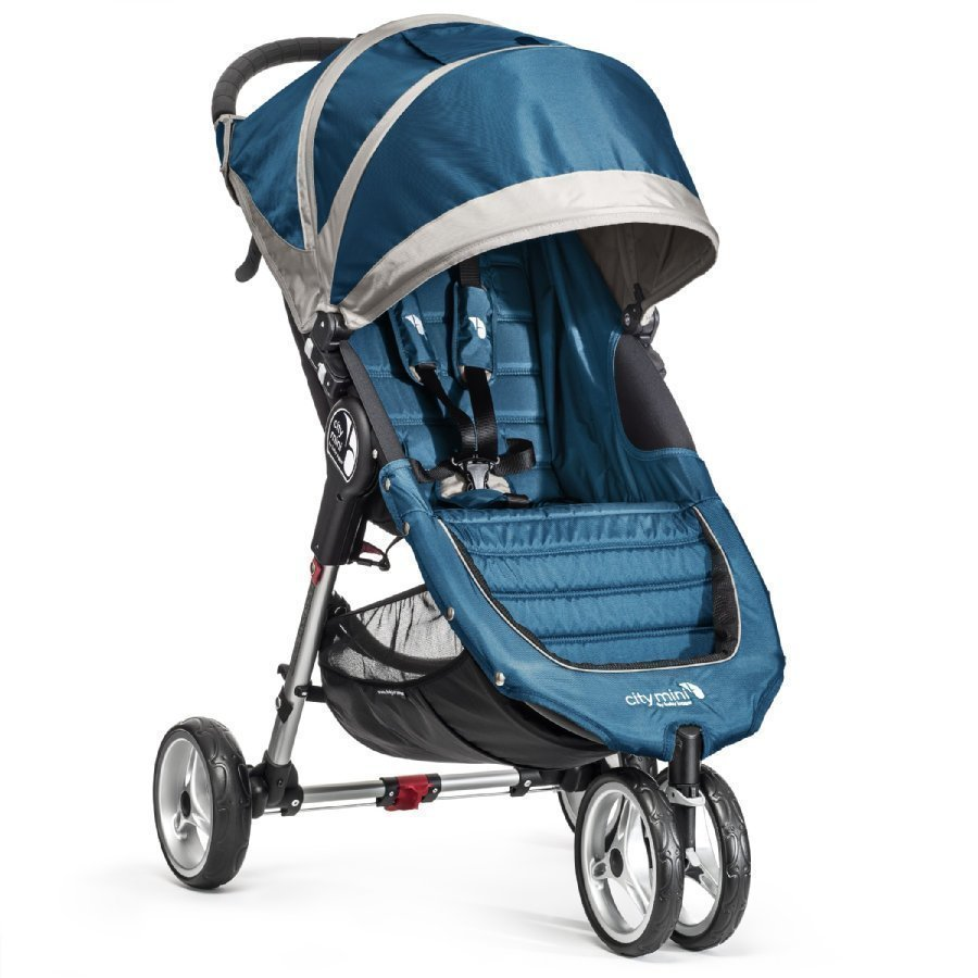 Baby Jogger City Mini 3 Teal / Gray Lastenrattaat