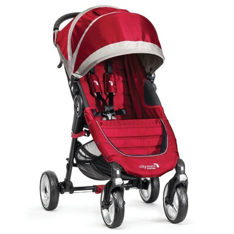 Baby Jogger City Mini 4 2015 Crimson / Gray Lastenrattaat