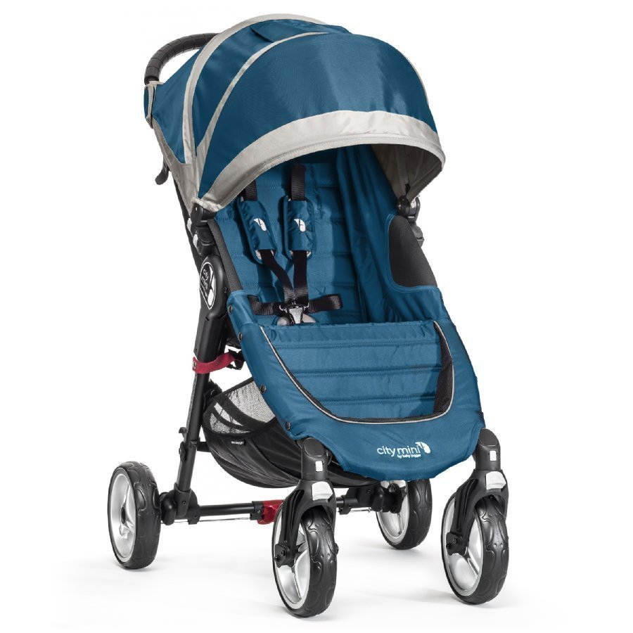 Baby Jogger City Mini 4 2015 Teal / Gray Lastenrattaat