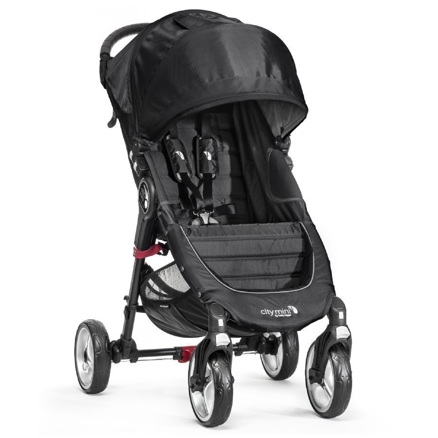 Baby Jogger City Mini 4 Black Matkarattaat