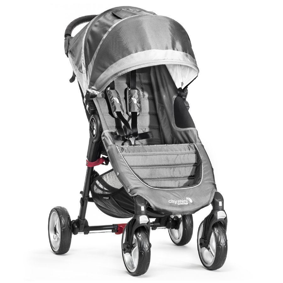 Baby Jogger City Mini 4 Steel / Gray Lastenrattaat