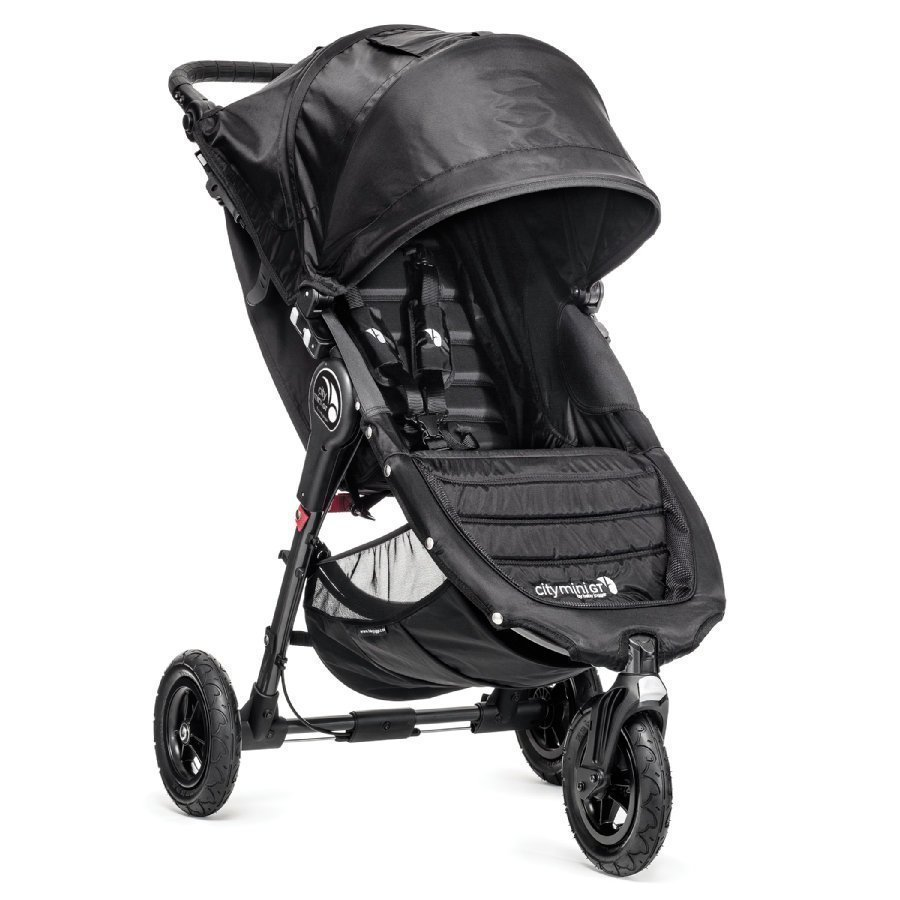 Baby Jogger City Mini Gt Black Lastenrattaat