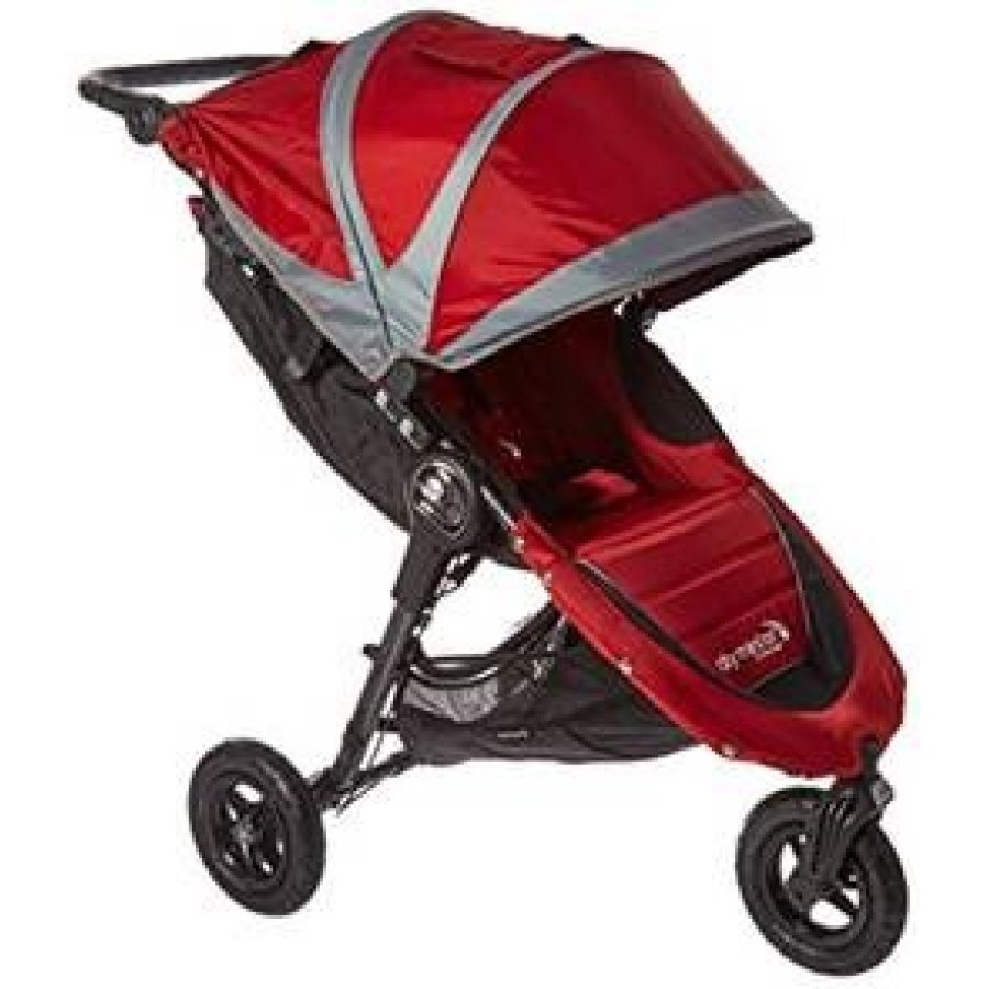 Baby Jogger City Mini Gt Crimson / Gray Lastenrattaat