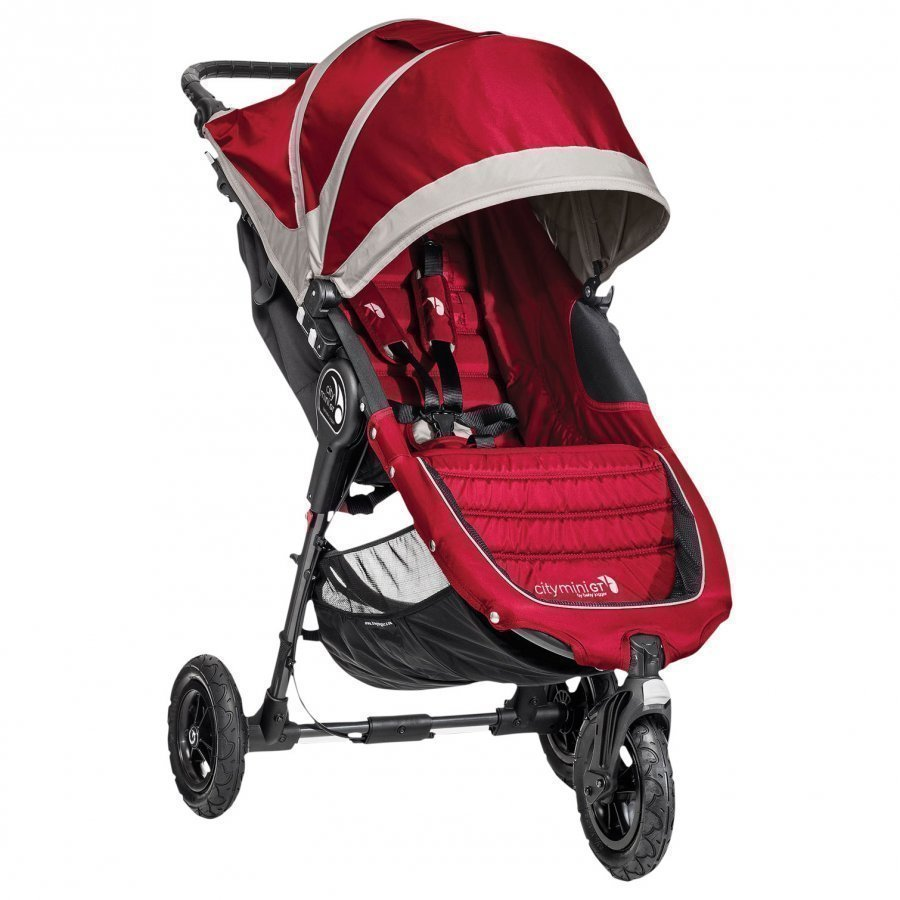 Baby Jogger City Mini Gt Crimson/Grey Yhdistelmävaunut