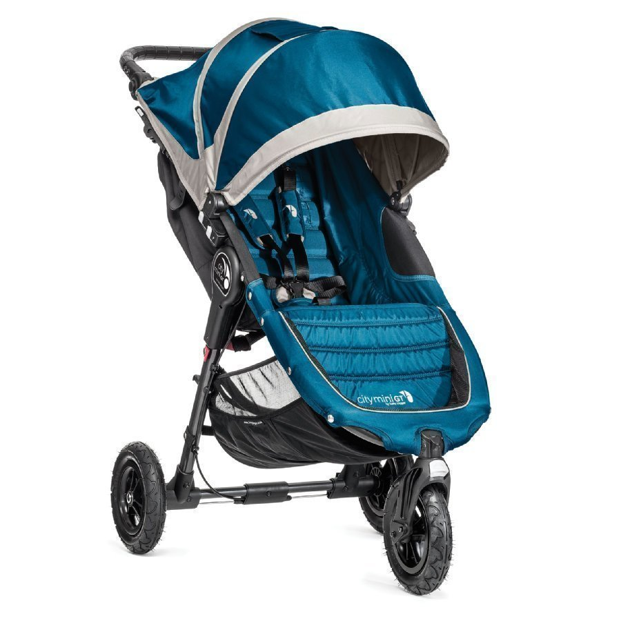 Baby Jogger City Mini Gt Teal / Gray Lastenrattaat