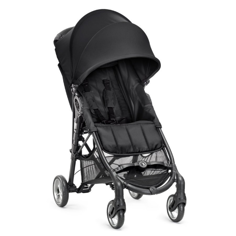 Baby Jogger City Mini Zip Black Matkarattaat