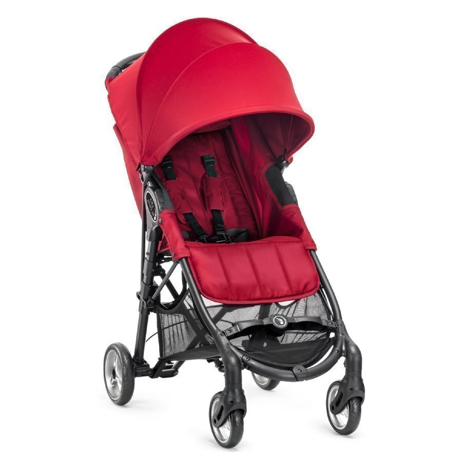 Baby Jogger City Mini Zip Red Matkarattaat