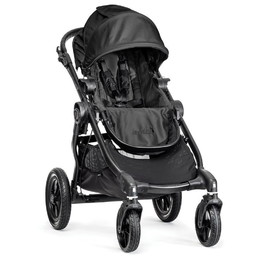 Baby Jogger City Select Black Lastenrattaat