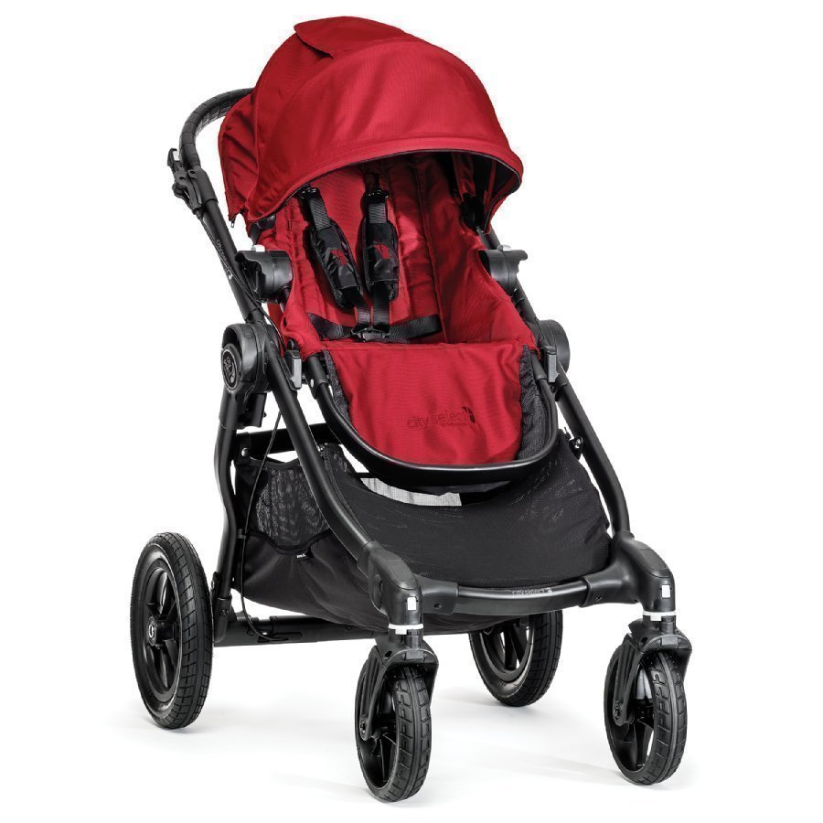Baby Jogger City Select Red Lastenrattaat