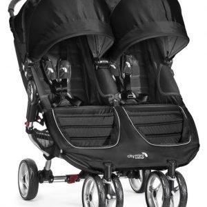 Baby Jogger Rattaat City Mini Double Black/Grey