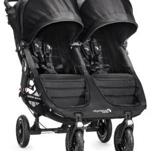 Baby Jogger Rattaat City Mini GT Double Black/Black