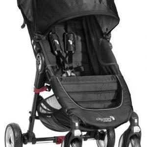 Baby Jogger Rattaat City Mini Single (4W) Black/Grey