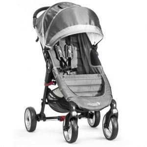 Baby Jogger Rattaat City Mini Single (4W) Steel/Grey