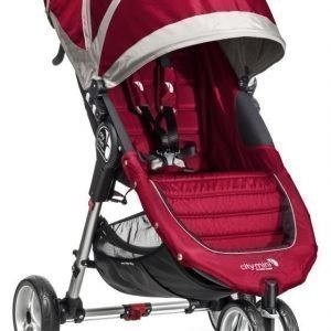 Baby Jogger Rattaat City Mini Single Crimson/Grey