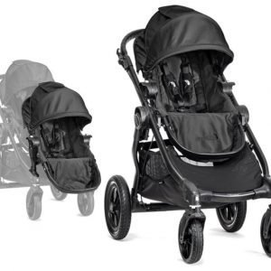 Baby Jogger Rattaat City Select Single Black tcc Sisarusistuin City Select Paketti