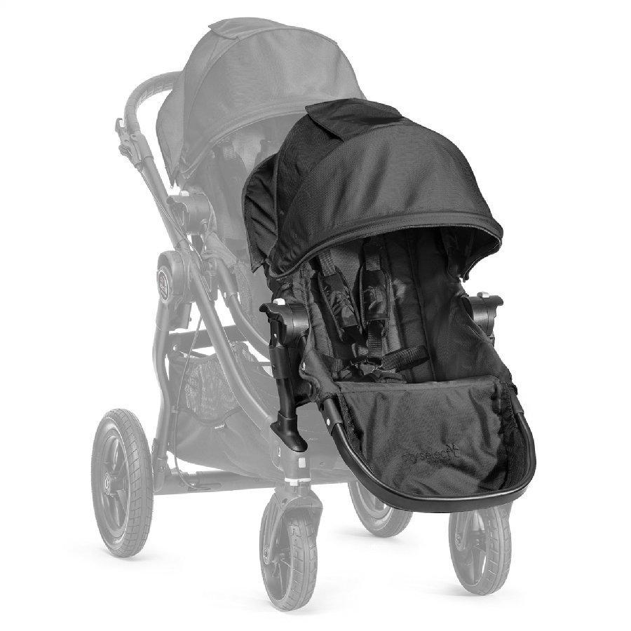 Baby Jogger Sisarusistuin Rattaisiin Select Sis. Adapterin Black