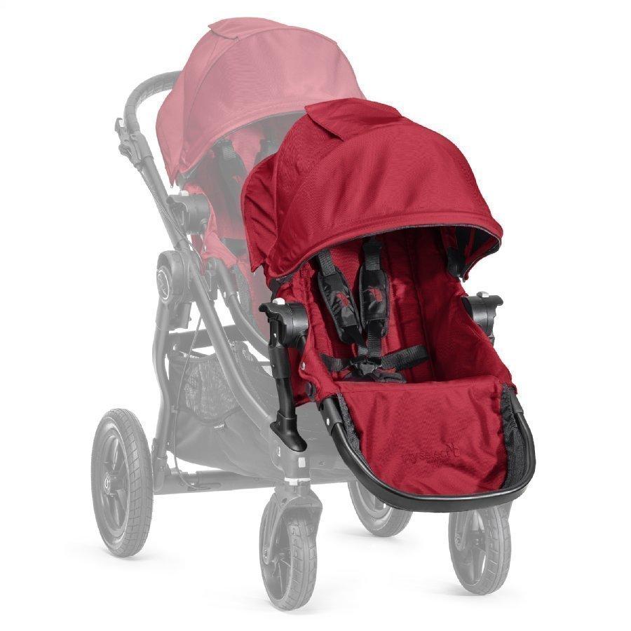 Baby Jogger Sisarusistuin Rattaisiin Select Sis. Adapterin Red