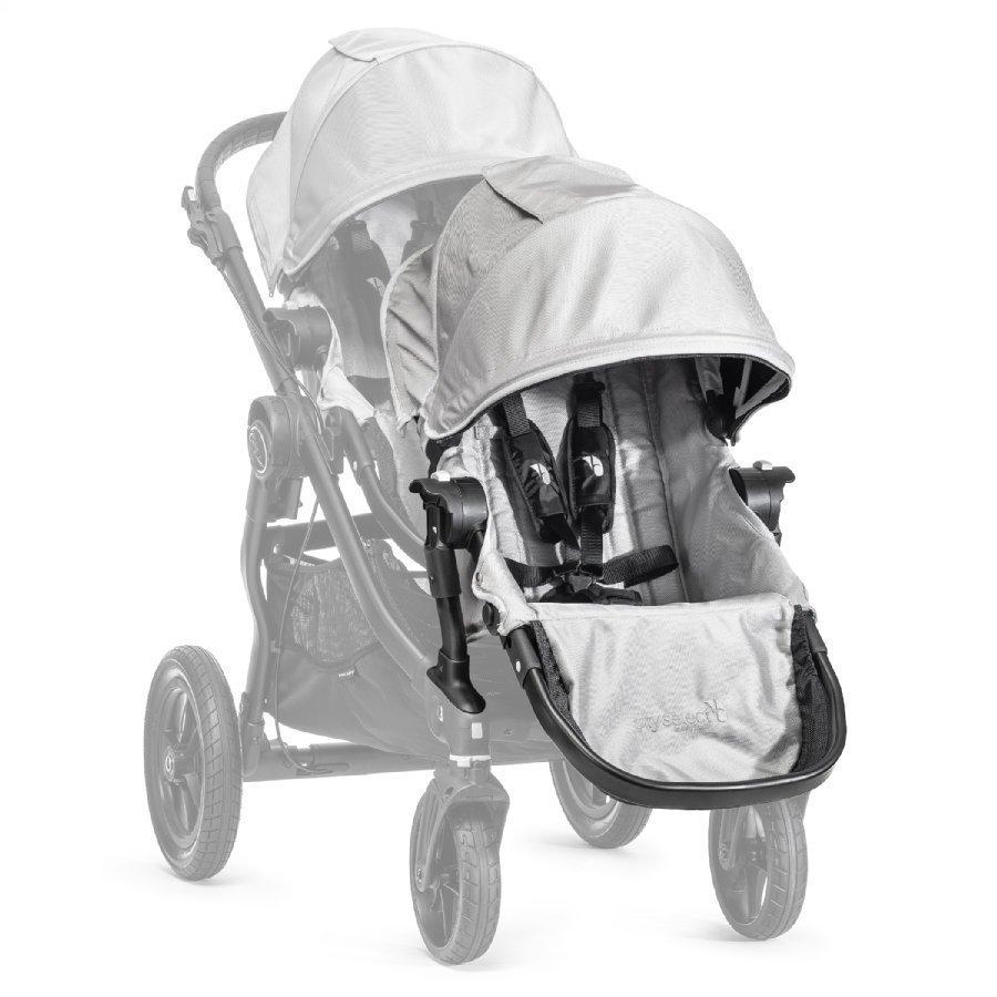 Baby Jogger Sisarusistuin Rattaisiin Select Sis. Adapterin Silver