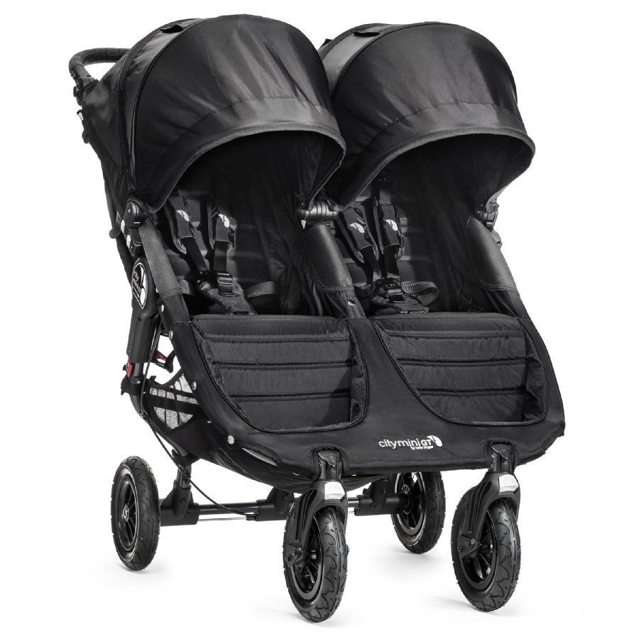 Baby Jogger Sisarusrattaat City Mini Gt Double Black