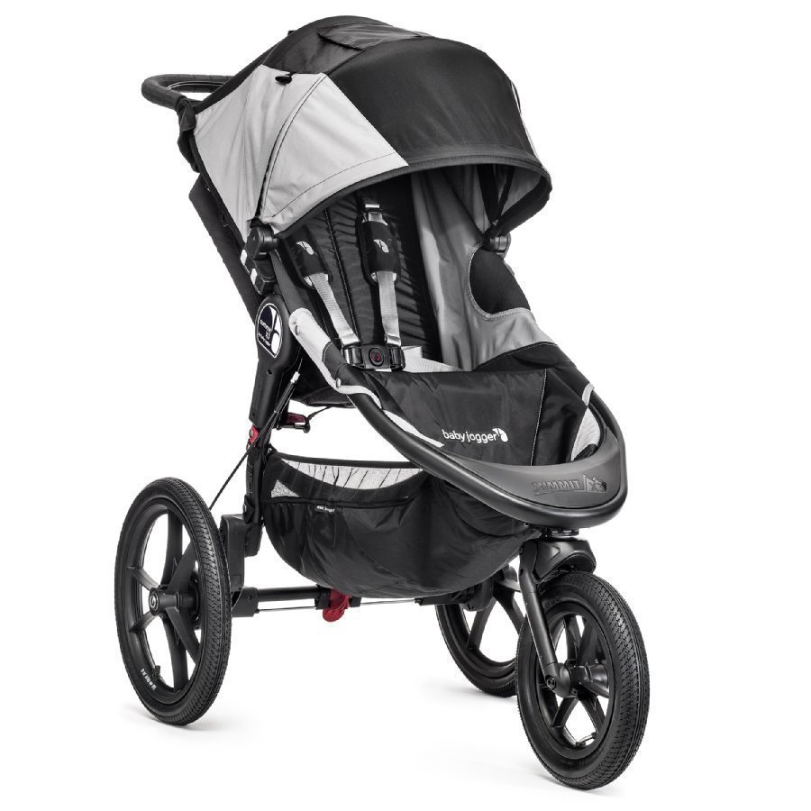 Baby Jogger Summit X3 Black / Gray Juoksurattaat