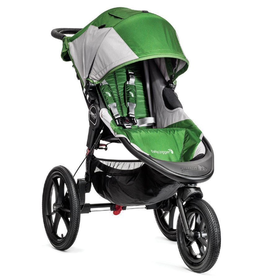 Baby Jogger Summit X3 Green / Gray Juoksurattaat