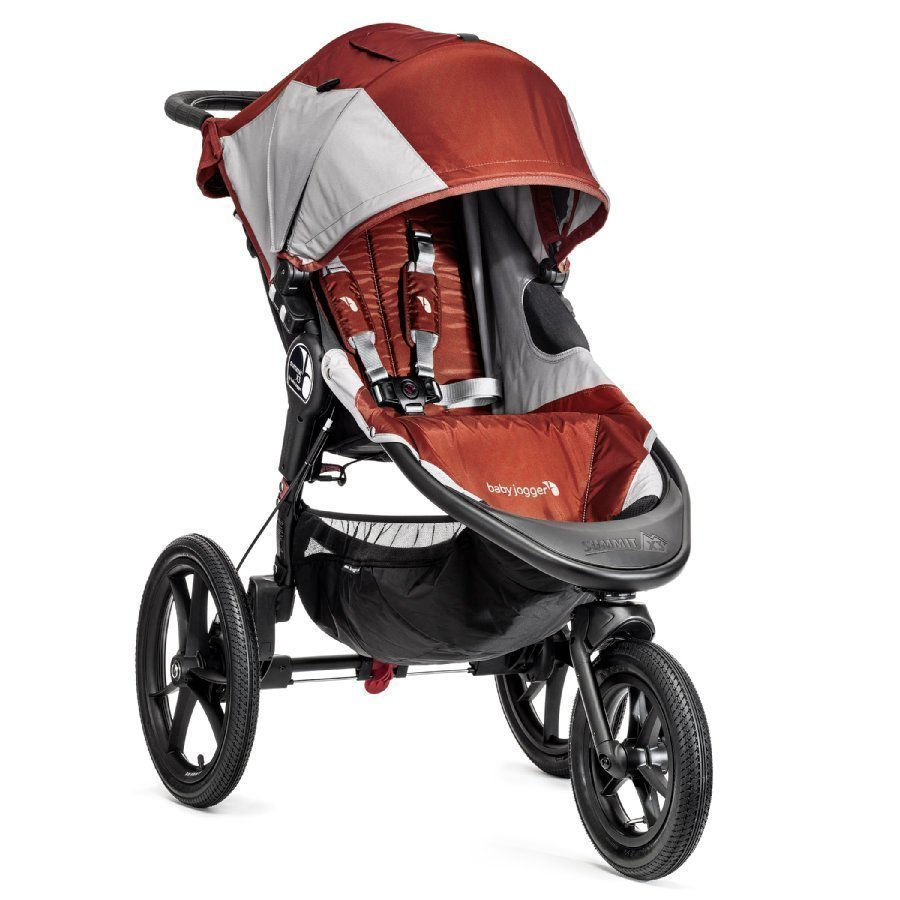 Baby Jogger Summit X3 Orange / Gray Juoksurattaat