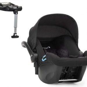 Baby Jogger Turvakaukalo + ISOfix-jalusta City Go Black