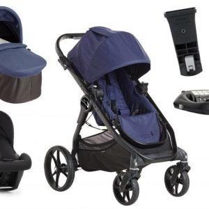 Baby Jogger yhdistelmävaunut City Premier + Turvakaukalo + Isofix-telakka Indigo